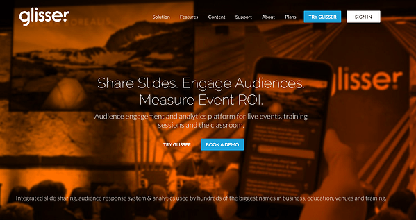 Glisser - Productivity Tools for Event Planners