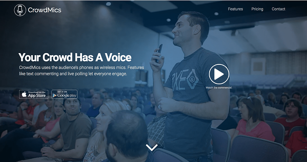 CrowdMics - Productivity Tools for Event Planners