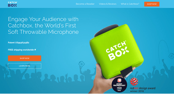 Catchbox - Productivity Tools for Event Planners