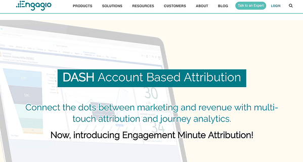 Engagio Dash - Productivity Tools for Event Planners