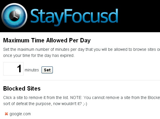 StayFocusd - Productivity Tools for Event Planners