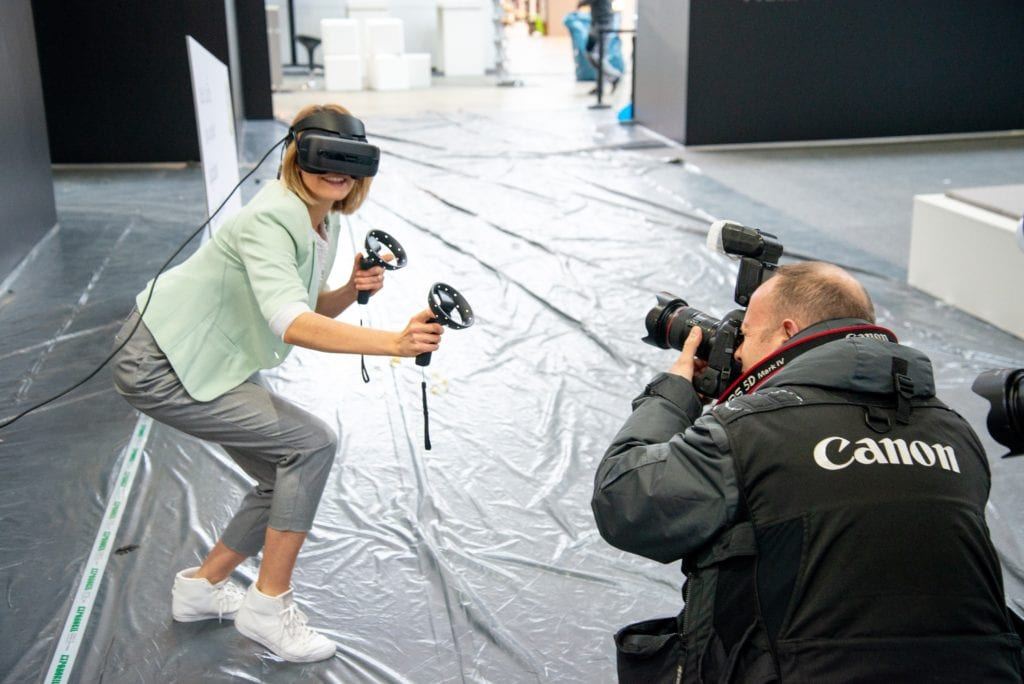 interactive and VR experiences for events