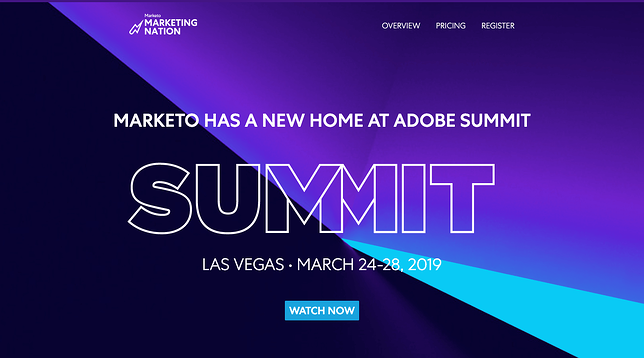 Marketo Summit Example - Event Marketing Guide 2020