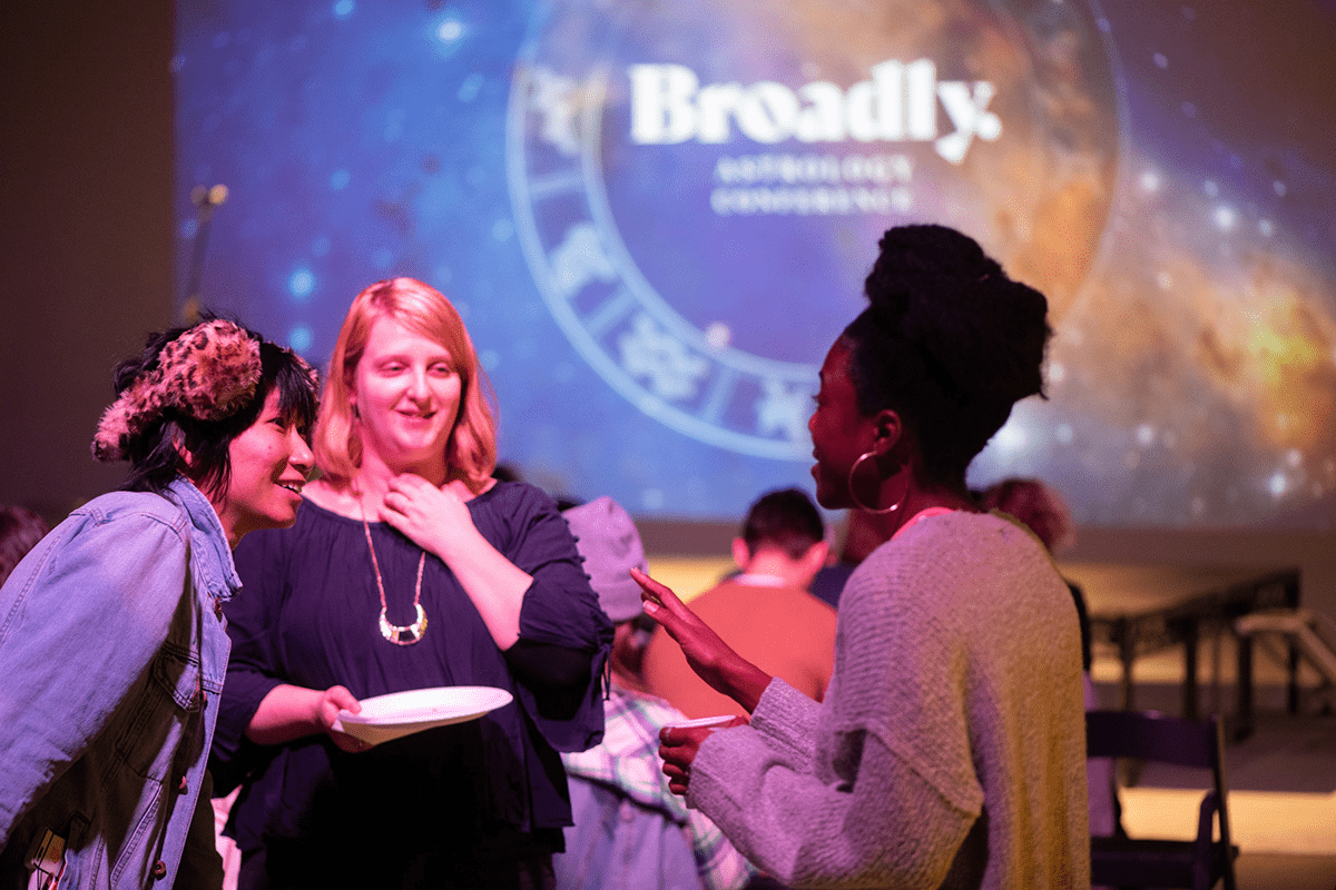 Broadly Astrology Conference - Vice Event Marketing