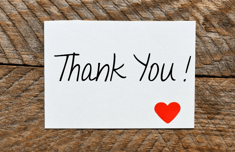 Personalized Thank You Card - Digital Gifts for Events