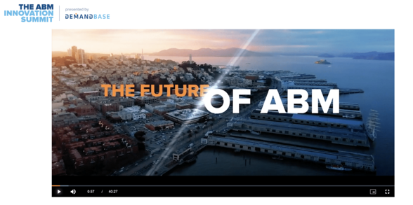 How To Launch a Virtual Conference - The Future of ABM Keynote