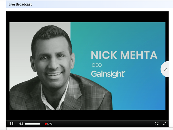 Gainsight - virtual event takeaways