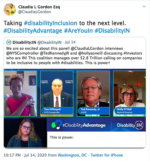 Diversity and Inclusion Virtual Conferences - Disability: IN Virtual Conference