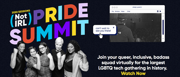Diversity and Inclusion Virtual Conferences - Not IRL Pride Summit