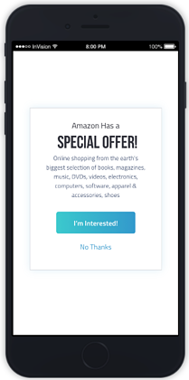 Virtual Event Sponsorship Ideas - In-App Offers