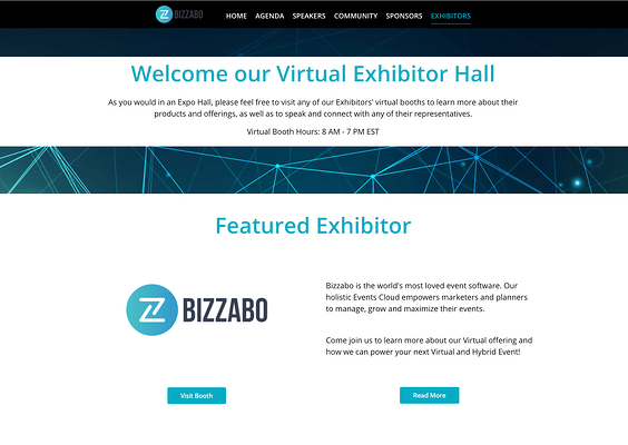 Virtual Event Production Glossary - Sponsorship Booth