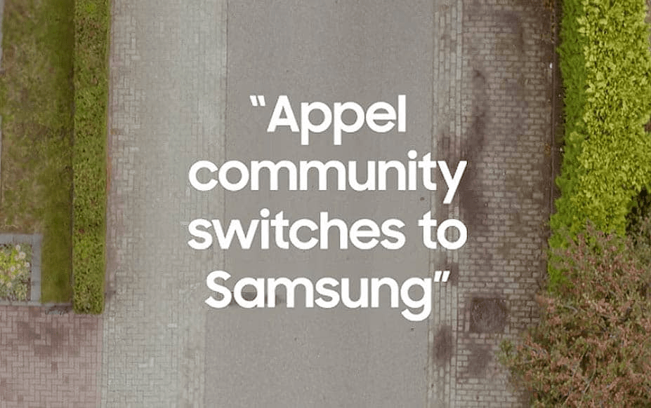 Samsung's Appel Giveaway - Guerilla Marketing Examples