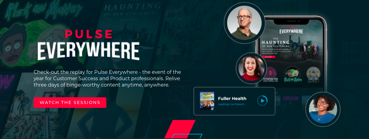 Gainsight Pulse Everywhere Netflix Example Corporate Event Themese