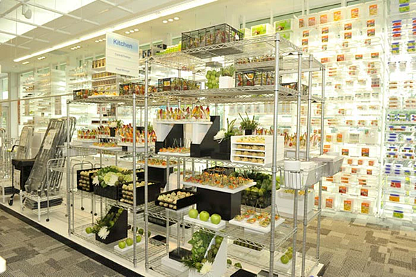 The Container Store Stocked Cabinets